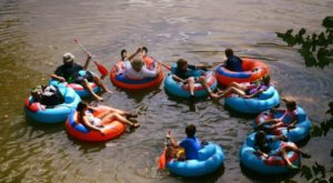 The River Campground Near Cincinnati Where You'll Have An Unforgettable Tubing Adventure