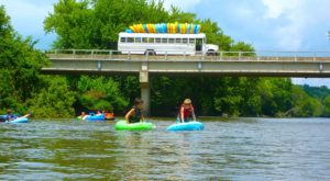 The River Campground In Iowa Where You'll Have An Unforgettable Tubing Adventure