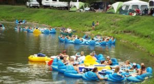 The River Campground In Michigan Where You'll Have An Unforgettable Tubing Adventure