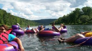 The River Campground In Pennsylvania Where You'll Have An Unforgettable Tubing Adventure