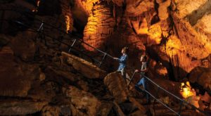 Venture Nearly 350-Feet Deep Below The Earth At These One Of A Kind Caverns Near Nashville