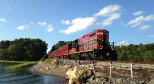 This Wine and Dinner Train In Massachusetts Is Perfect For Your Next Outing
