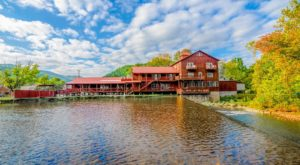Stay The Night At This Historic Mill Right On The Water For An Unforgettable Virginia Adventure