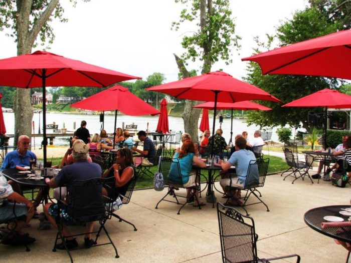 You'll Never Want To Leave This Enchanting Waterfront Restaurant In Michigan