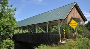This Quaint Covered Bridge In Vermont Marks The Location Of A Long Abandoned Mill Town