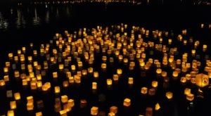 The Water Lantern Festival In Illinois That's A Night Of Pure Magic