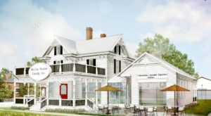 This Reconstructed 1900 Prairie Home Is Now A Popular Indiana Candy Store