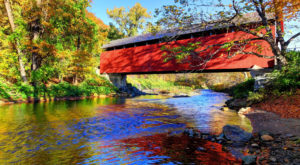 This Day Trip Takes You To 5 Of Massachusetts' Covered Bridges And It's Perfect For A Scenic Drive