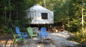 Stay In These 8 Incredible Yurts In New Hampshire For An Overnight You Won't Soon Forget
