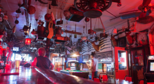 The Museum Bar In Michigan Where You'll Find Floor-To-Ceiling Fun