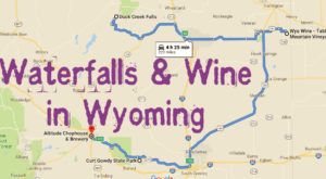 This Daytrip Will Take You To The Best Wine And Waterfalls In Wyoming