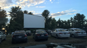Watch A Movie Under The Stars At This Historic Drive-In Theater In Maine