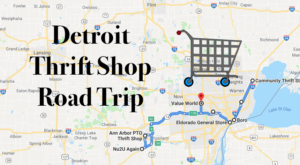 This Bargain Hunters Road Trip Will Take You To The Best Thrift Stores Around Detroit