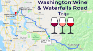 This Daytrip Will Take You To The Best Wine And Waterfalls In Washington