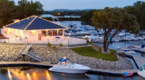 This Waterfront Wisconsin Restaurant Takes Outdoor Dining To A Whole New Level