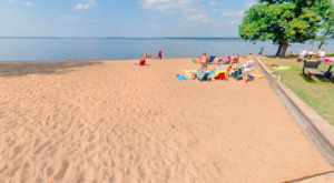This One Beautiful Minnesota Lake Has A Beach That Rivals The Coast