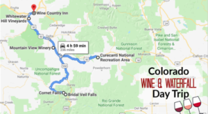 This Day Trip Will Take You To The Best Wine And Waterfalls In Colorado