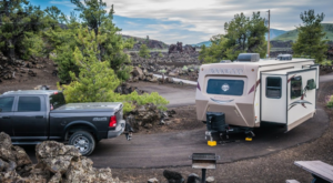 This Idaho Campground Is Located On A Lava Field And The Scenery Is Absolutely Spectacular