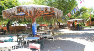Grill Your Own BBQ At This Tropical-Themed Arizona Restaurant