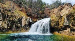 The Hike To This Little-Known Arizona Waterfall Is Short And Sweet