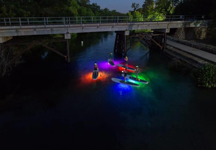 Go Glow In The Dark Paddle Boarding In Texas This Summer