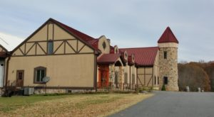 This Castle Vineyard Tucked Away In Virginia Is A Fairytale Come To Life