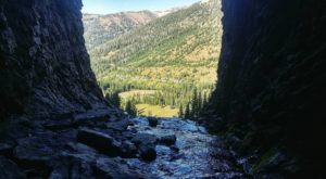 This Waterfall Canyon Cave In Wyoming Is Worthy Of A Little Adventure