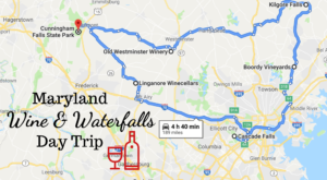 This Day Trip Will Take You To The Best Wine And Waterfalls In Maryland