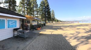 Enjoy Your Meal On The Beach At This Charming Lakefront Restaurant In Northern California