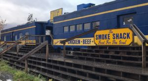 This Historic Alaska Railroad Car Is Now A Restaurant And You'll Want To Plan Your Visit