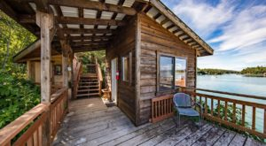 Spend The Night Over The Water In A Pier Cabin At This Secluded Alaskan Lodge
