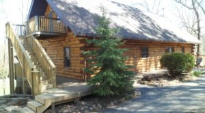 This Log Cabin Retreat In Wisconsin Will Bring Out The Quilter In You