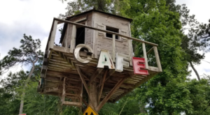 The Treehouse Restaurant In Texas That's Straight Out Of A Fairy Tale