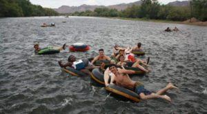 There's No Better Way To Spend A Summer's Day Than Tubing Along This Arizona River