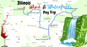 This Day Trip Will Take You To The Best Wine And Waterfalls In Illinois
