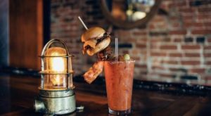 The Massive Bloody Marys At This Cincinnati Restaurant Are True Works Of Art