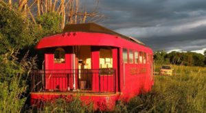 Spend The Night In This Rustic Caboose With Mountain Views In Vermont