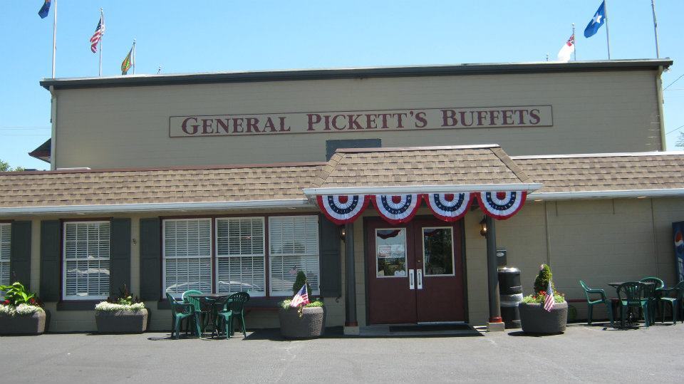 General Pickett S Buffet In Pennsylvania Is An All You Can