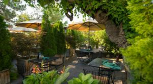 Dine In A Magical Outdoor Garden At This One Restaurant In Nevada