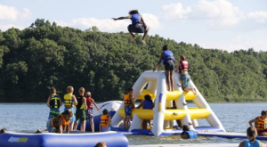 This Giant Inflatable Water Park In Michigan Proves There's Still A Kid In All Of Us