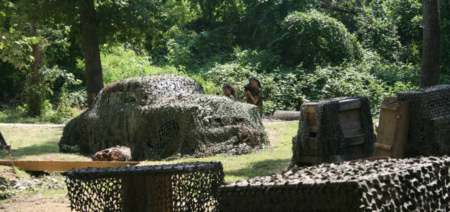 This Outdoor Laser Tag Course In North Carolina Is The