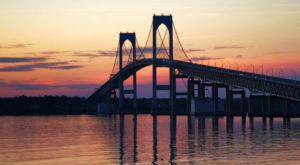 New England's Longest Suspension Bridge Is Right Here In Rhode Island And It's Stunning