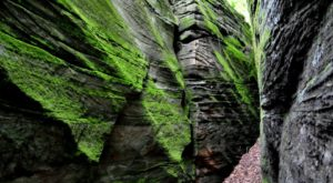 This Little-Known Park Near Cleveland Hides A Natural Sandstone Maze That Leads To A Waterfall