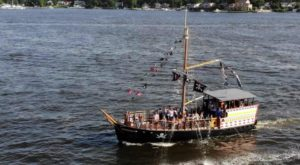 Set Sail Aboard This New Jersey Pirate Ship For The Perfect Family Adventure