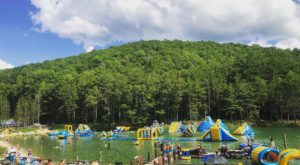This Giant Inflatable Water Park In West Virginia Proves There's Still A Kid In All Of Us
