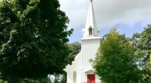 This Island Parish Near Cleveland Has The Oldest Wooden Church In Ohio