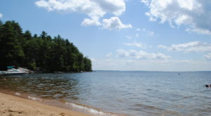 This One Beautiful Maine Lake Has A Beach That Rivals The Coast