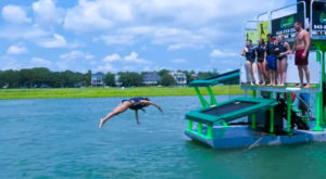 This Floating Mobile Water Park In South Carolina Will Make Your Summer Complete