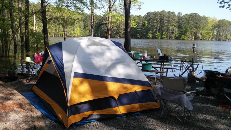 This Jordan Lake Campground In North Carolina Swells To ...