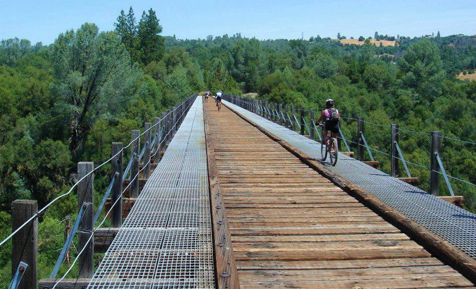 Follow This Railroad Trail In Northern California For A Unique Hike